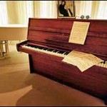 Steinway used for composing Imagine