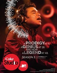 ARR - Coke Studio - Poster