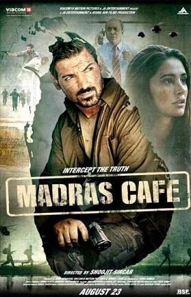 madras cafe poster
