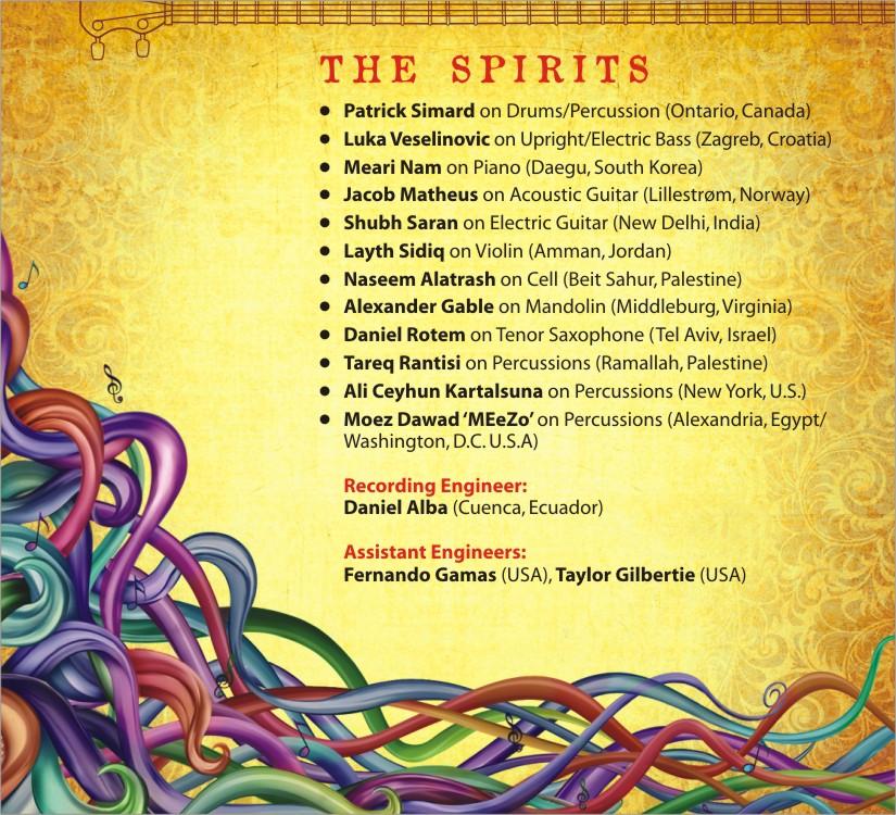 Attuned Spirit Artist Credits 1