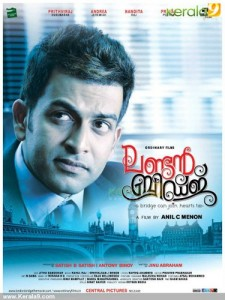 london bridge malayalam movie poster