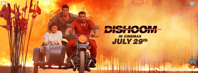 dishoom bollywood poster