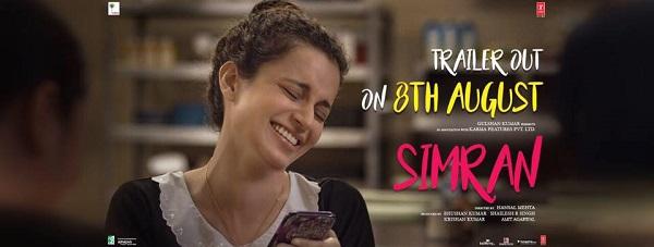 SIMRAN (2017) con KANGANA RANAUT + Jukebox + Sub. Español + Online Simran-bollywood-poster